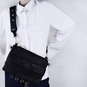 nano clutch torebka na długim pasku