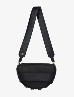 mySTARS LUNA SET III czarna torebka na szerokim długim pasku