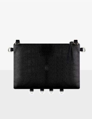 NANO CLUTCH black torebka personalizowana