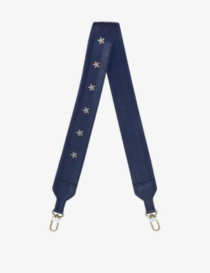 DŁUGI PASEK dark jeans stars