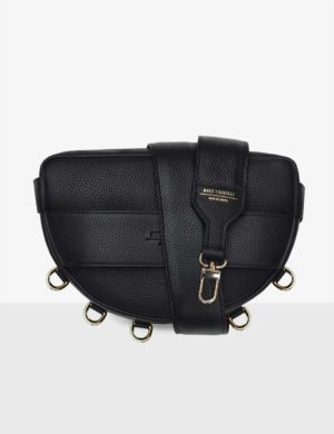 mySTARS LUNA SET III czarna torebka na szerokim długim pasku (2)