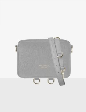 BABY CUBE Set cloudy gray długi pasek regulowany torebki make yourself