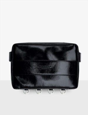 cube torebka glossy black