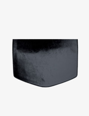 KLAPA glossy black