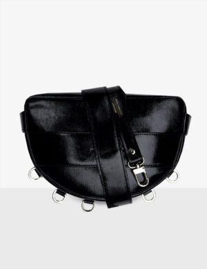 LUNA set glossy black