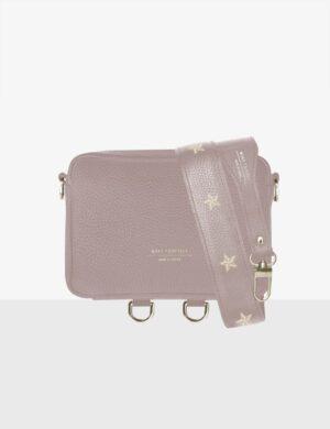 Torebka BABY CUBE pink quartz SET II stars