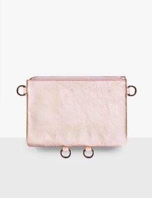 BABY CLUTCH pink pearl torebka