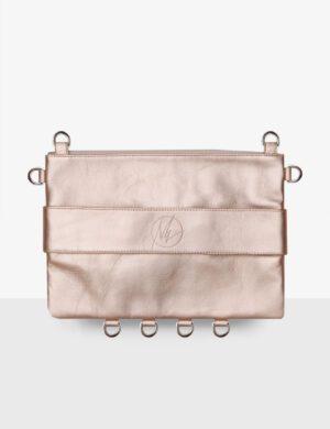 CLUTCH pink pearl torebka