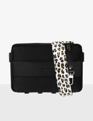 Torebka CUBE black SET II leopard