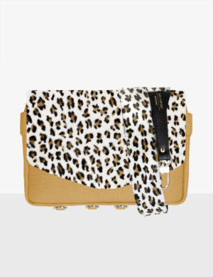 CUBE SET marigold STRUCTURE leopard klapa i pasek 105