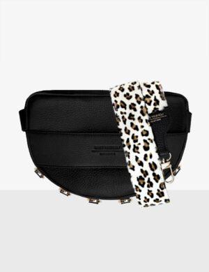 Torebka LUNA black SET I leopard
