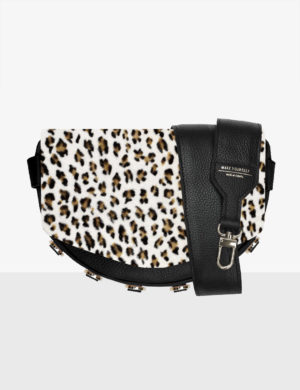 LUNA SET black STRUCTURE leopard