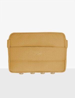 CUBE marigold torebka skórzana