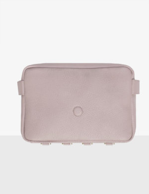 CUBE pink quartz torebka