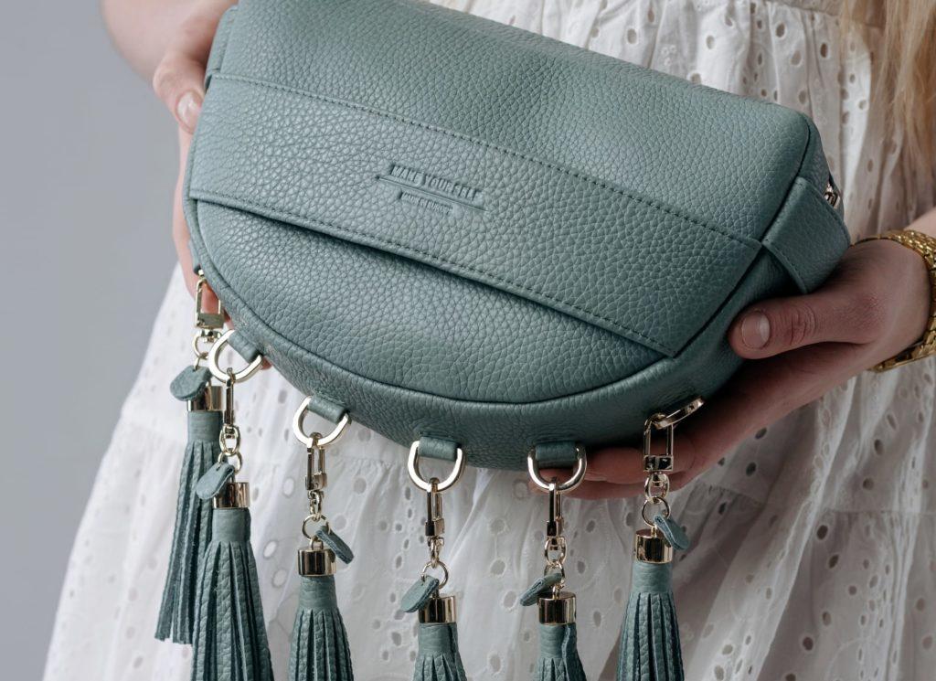 Kolekcja Pastel Gypsy torebka sage green