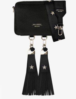 BABY CUBE SET black FRINGE stars