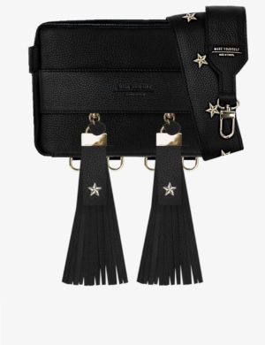 CUBE SET black FRINGE stars