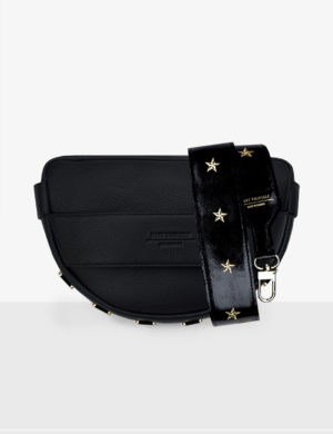 Torebka LUNA black SET I gloss stars