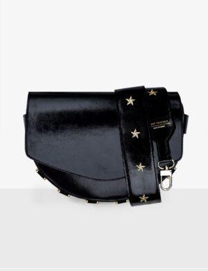 Torebka LUNA gloss black SET VI stars