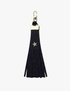 BRELOK black ostrich STARS