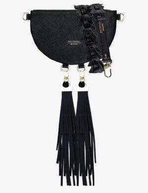 Torebka HALF MOON CLUTCH black SET III maxi