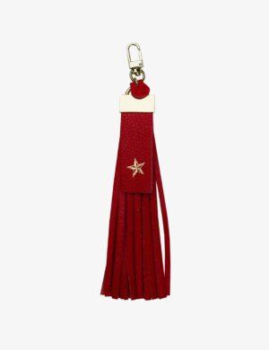 BRELOK red ostrich STARS
