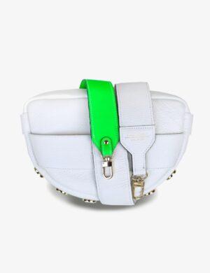 LUNA SET white SIMPLE neo green