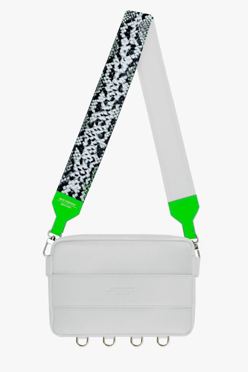 CUBE SET white STRUCTURE neo snake green