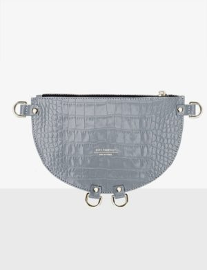 HALF MOON CLUTCH misty torebka