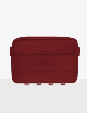 cube deep red torebka skórzana make yourself