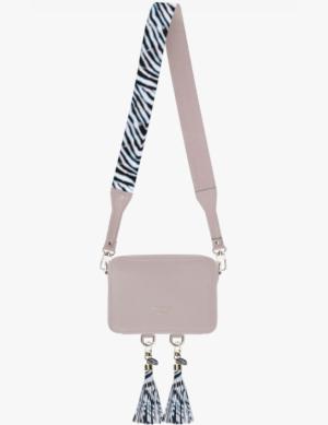 BABY CUBE SET pink quartz DŁUGI PASEK slim zebra simple