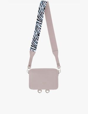 BABY CUBE SET pink quartz DŁUGI PASEK slim zebra