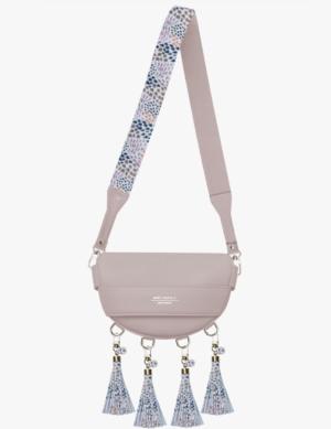 BABY LUNA SET pink quartz DŁUGI PASEK slim mosaic simple