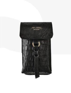 SACHETE black cro torebka na telefon make yourself