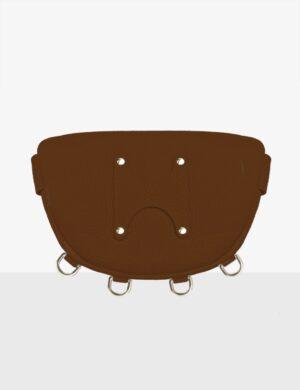 baby luna caramel torebka skórzana make yourself bag