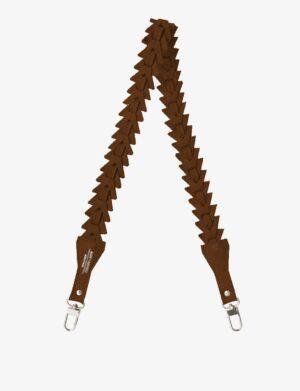 długi pasek triangle caramel do torebki make yourself bag