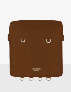 maxi cube caramel torebka personalizowana make yourself bag